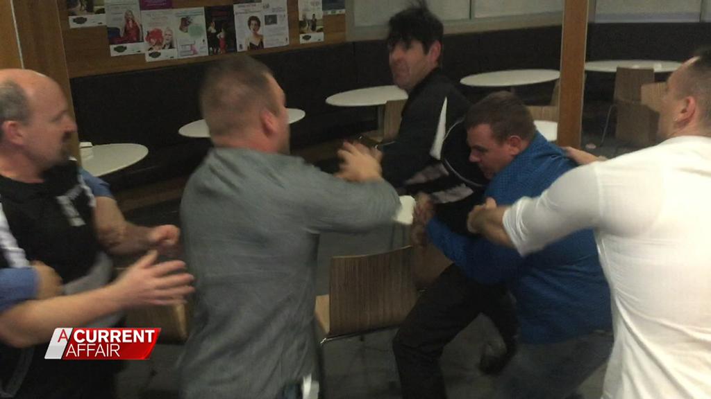 Maccas brawl