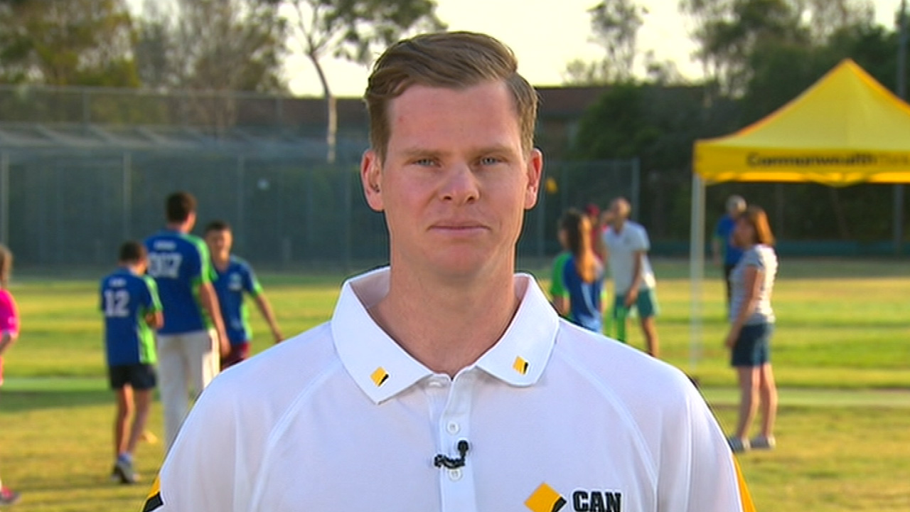 Steve Smith announces Commbank sponsorship program