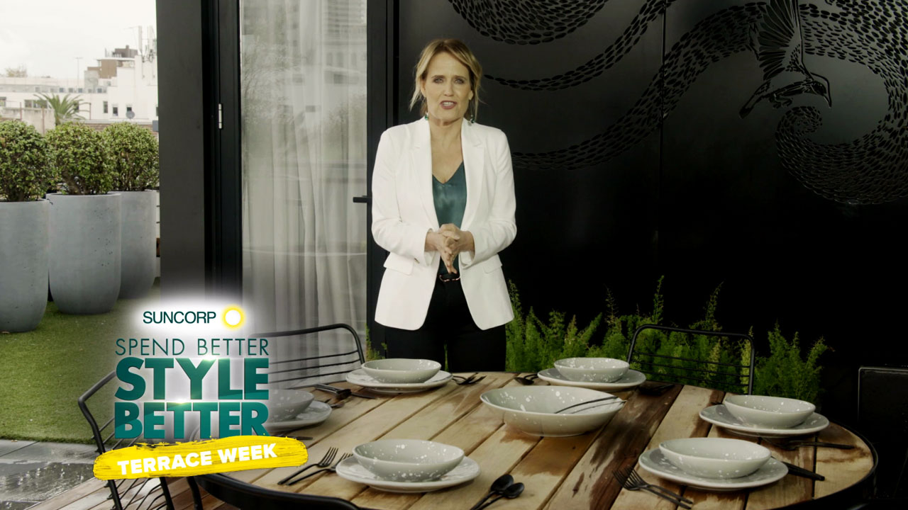 Shaynna's top tips on outdoor styling