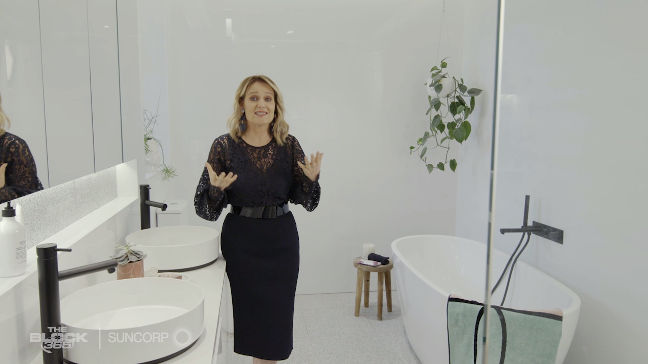 Shaynna's top tips on how to get a beautiful bathroom without spending the big bucks