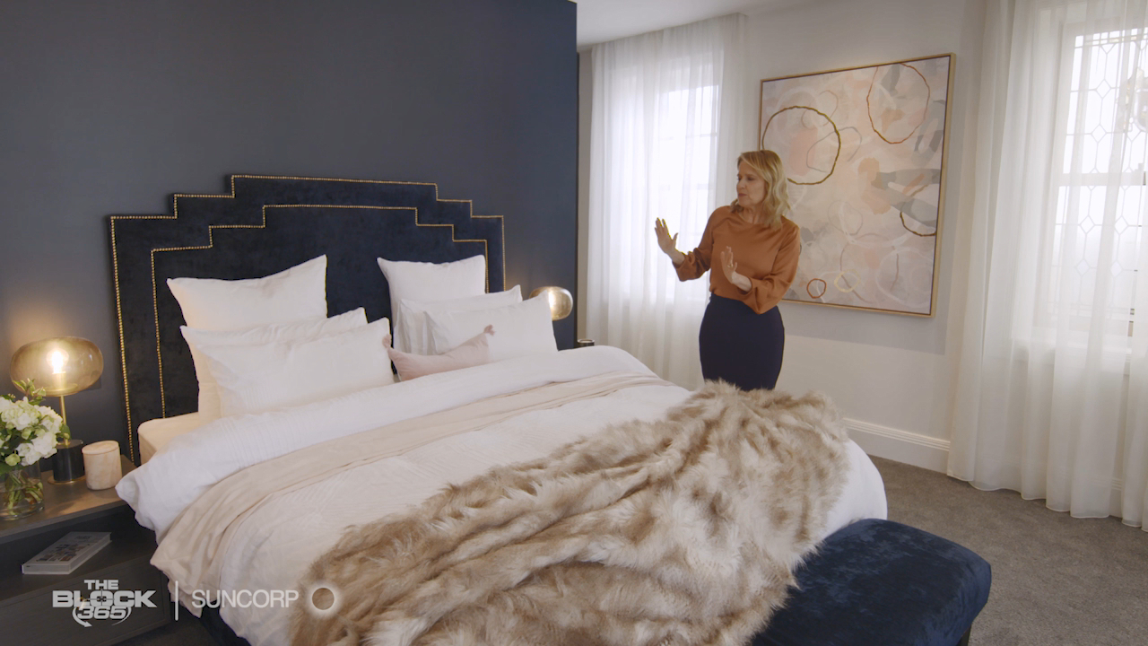 Shaynna Blaze's top tips on how to make a styling statement in your bedroom