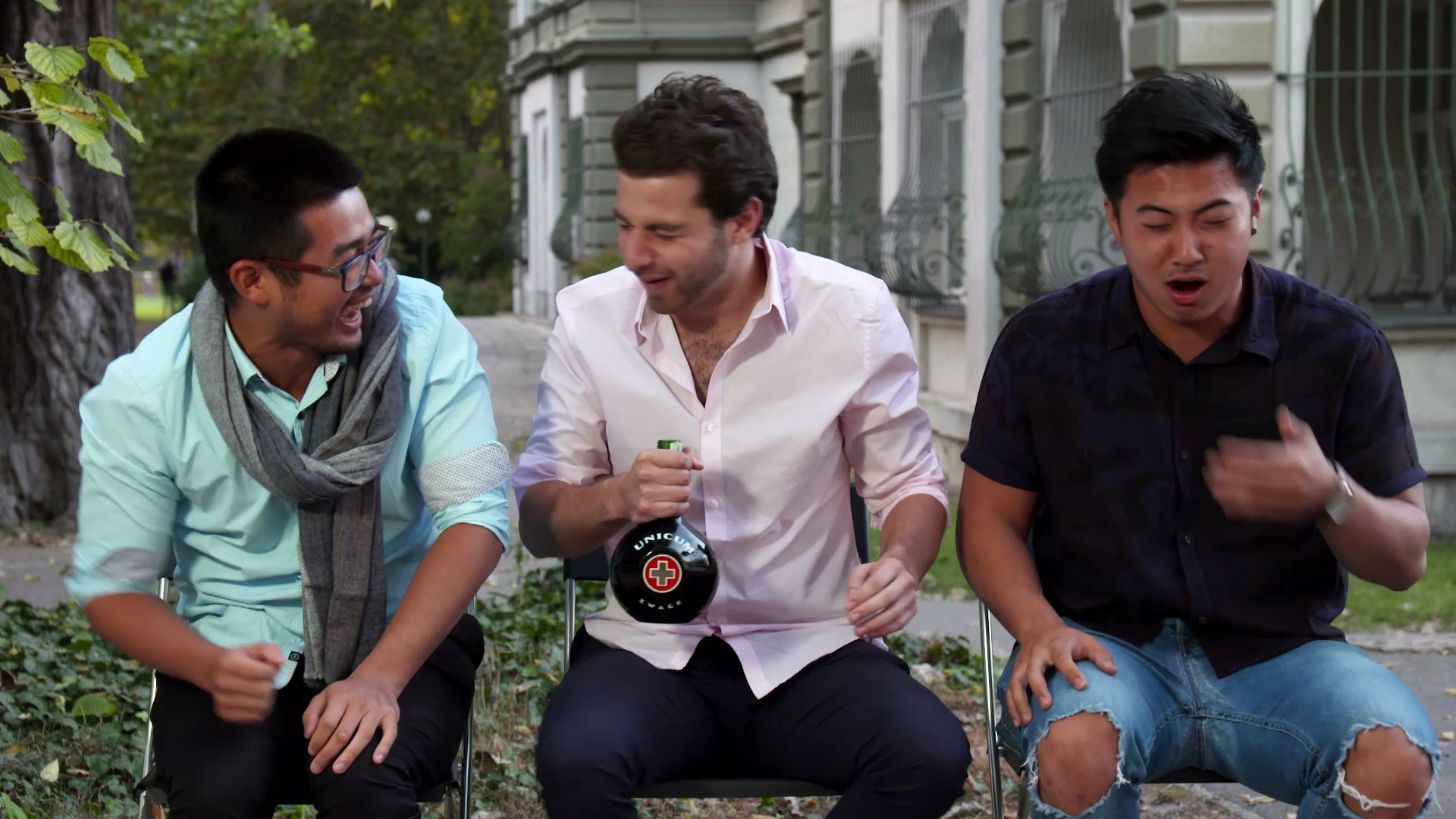Exclusive: Kev, Dorian and Teng explore the liqueur in Hungary