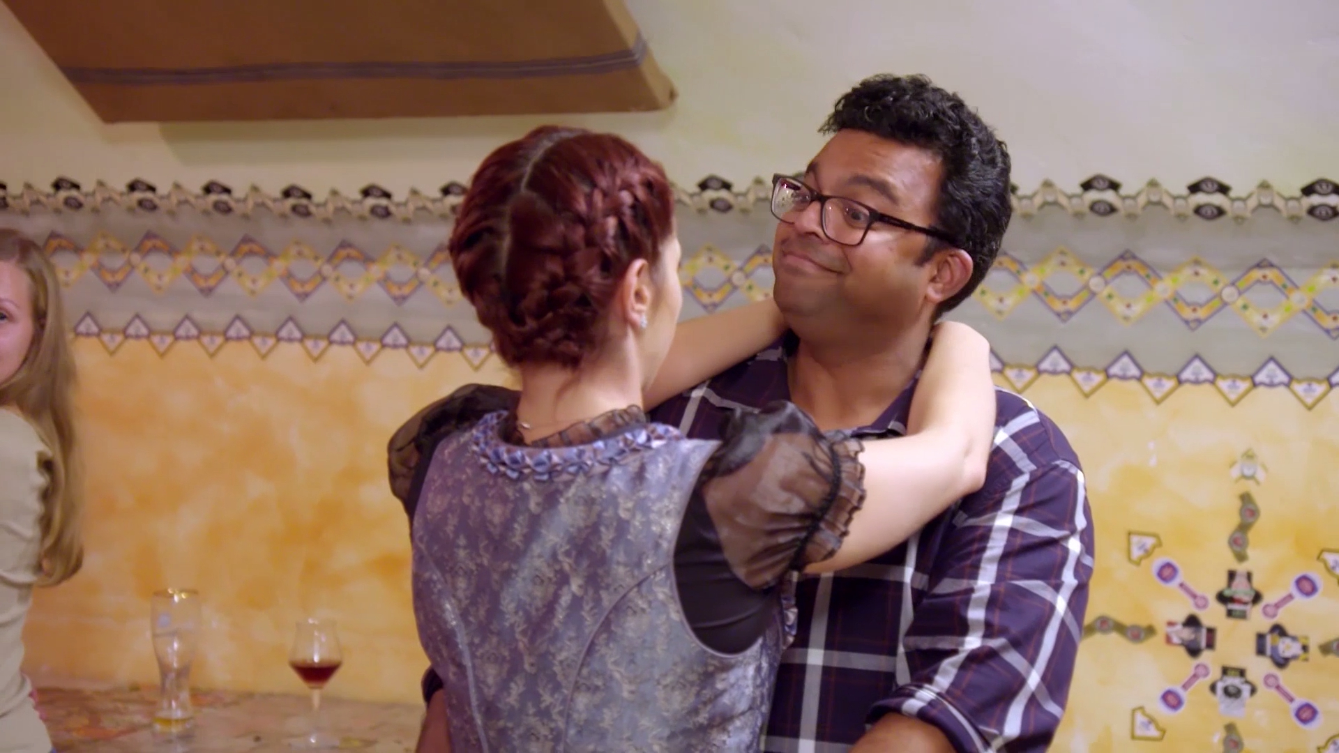 Newlyweds are put to the test as Polka dance instructor flirts with Deepesh