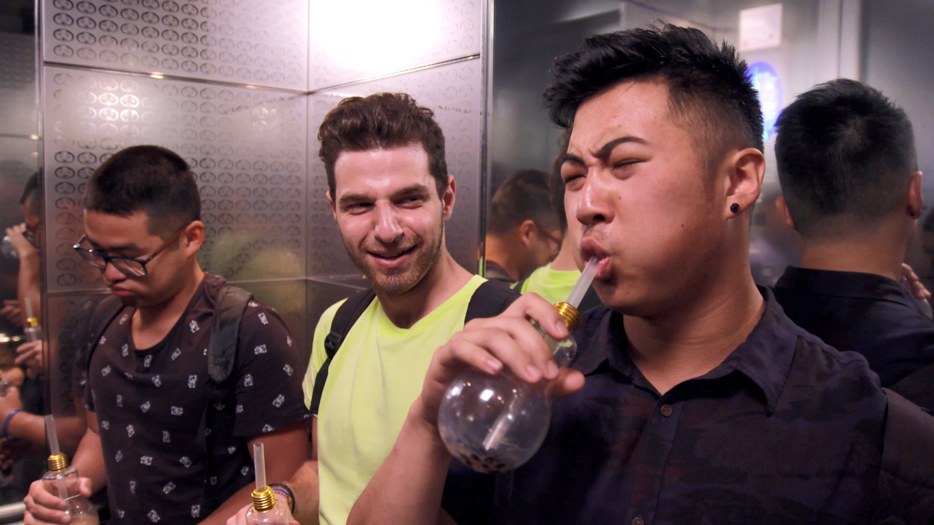 Target boys left traumatised by bubble tea