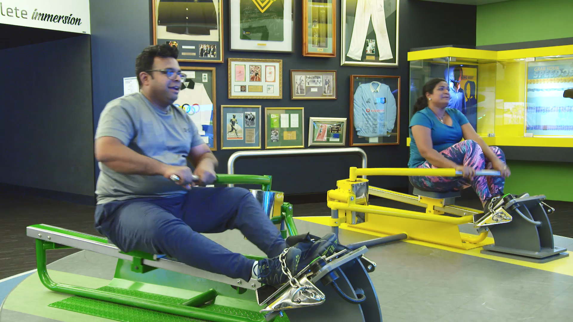 Rowing machines prove too much for Deepesh and Sage