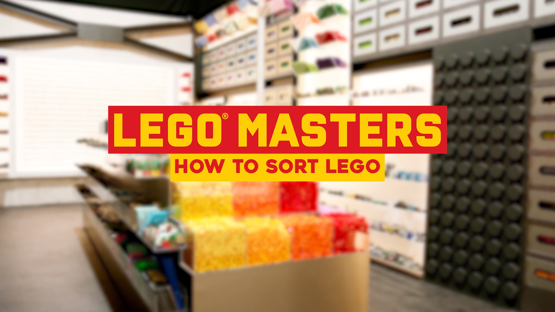 Tips, Tricks and Hacks: How to sort LEGO