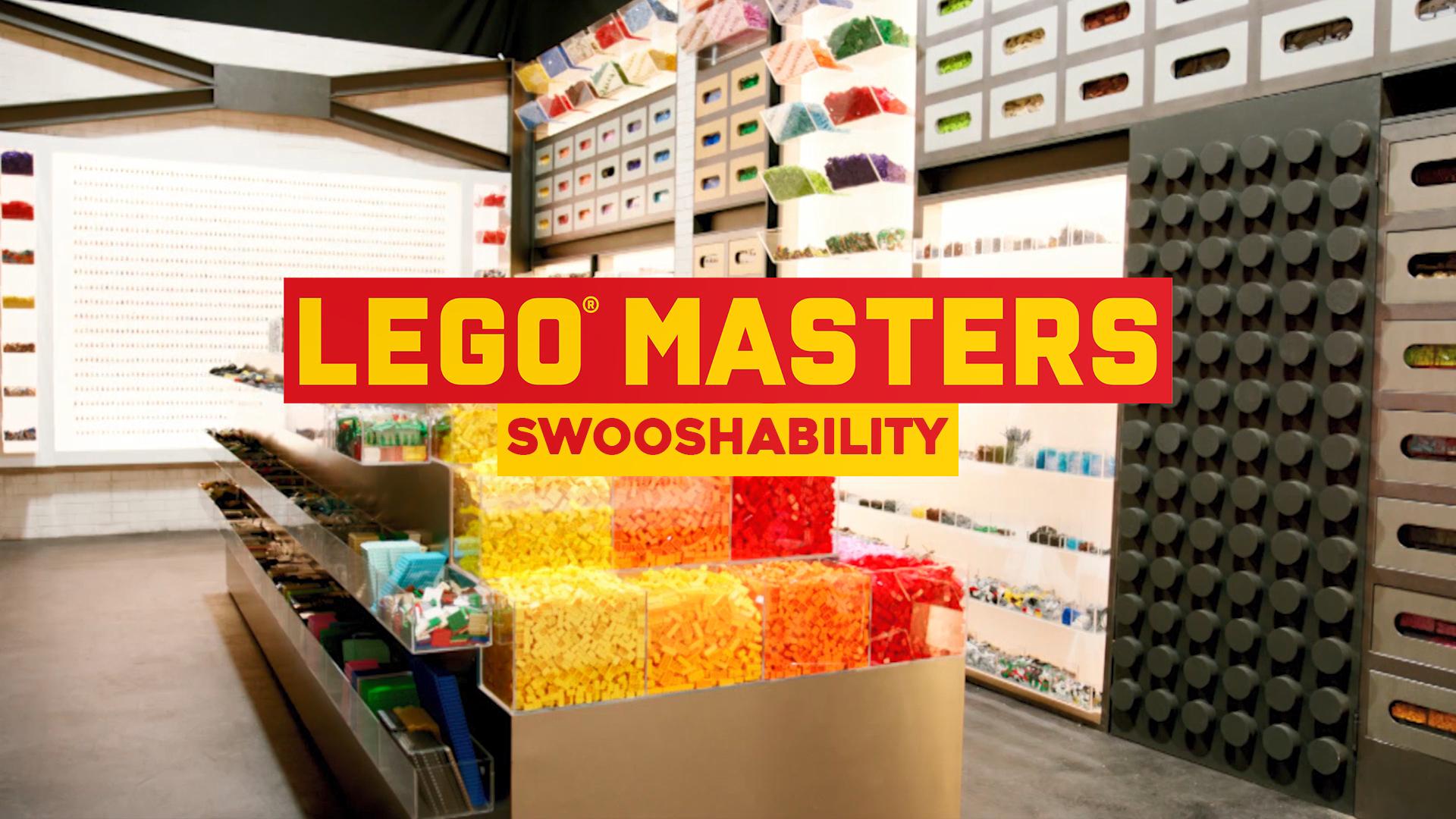 LEGO Tips, Tricks and Hacks: Swooshability