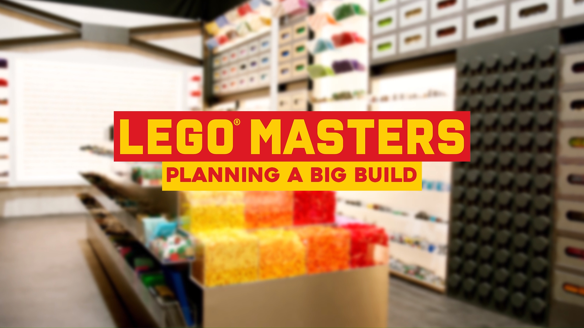 LEGO Tips Tricks and Hacks: Planning a Big Build