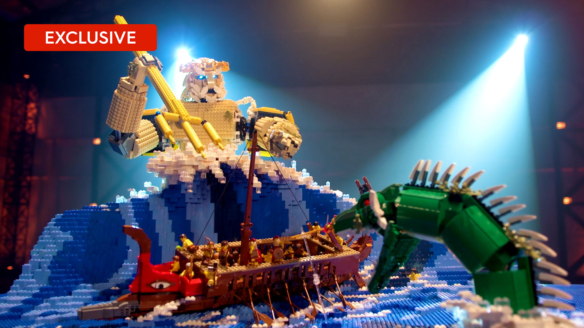 LEGO speed build: Henry and Cade's Poseidon