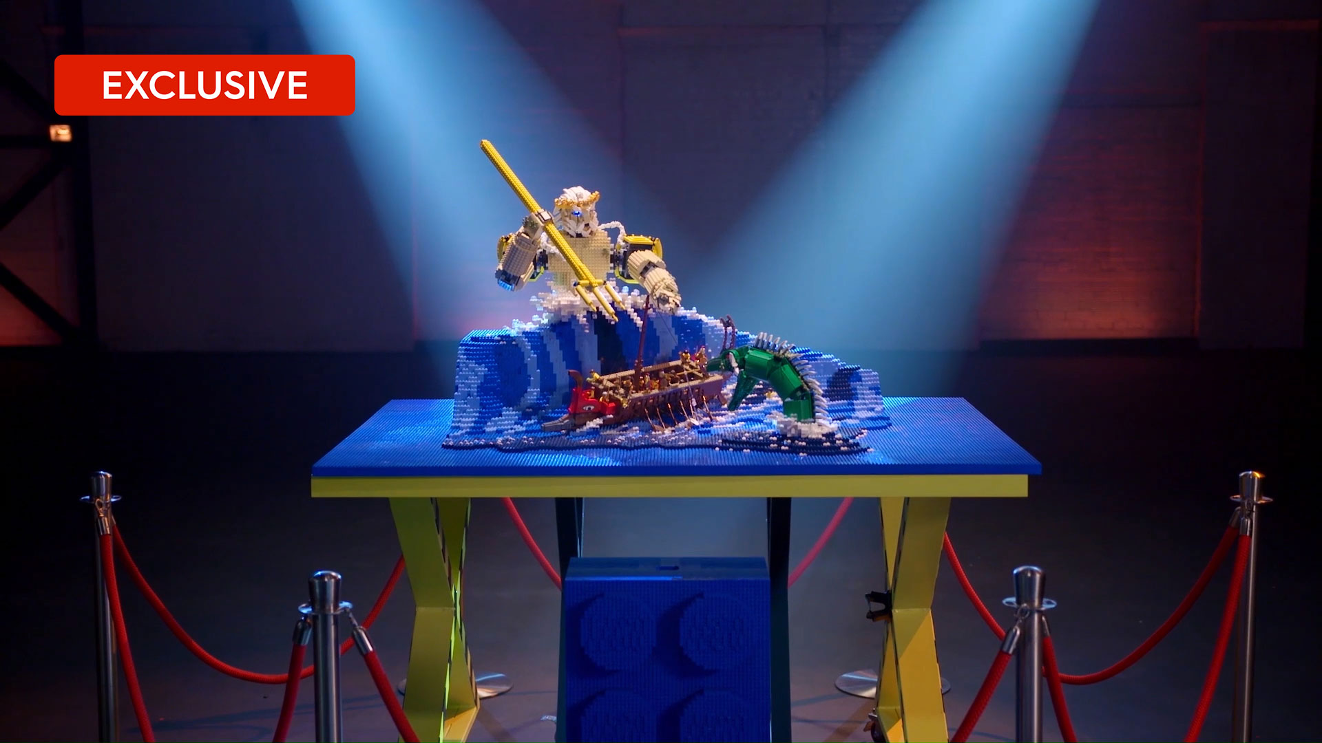 Extended LEGO reveal: Henry and Cade's Poseidon