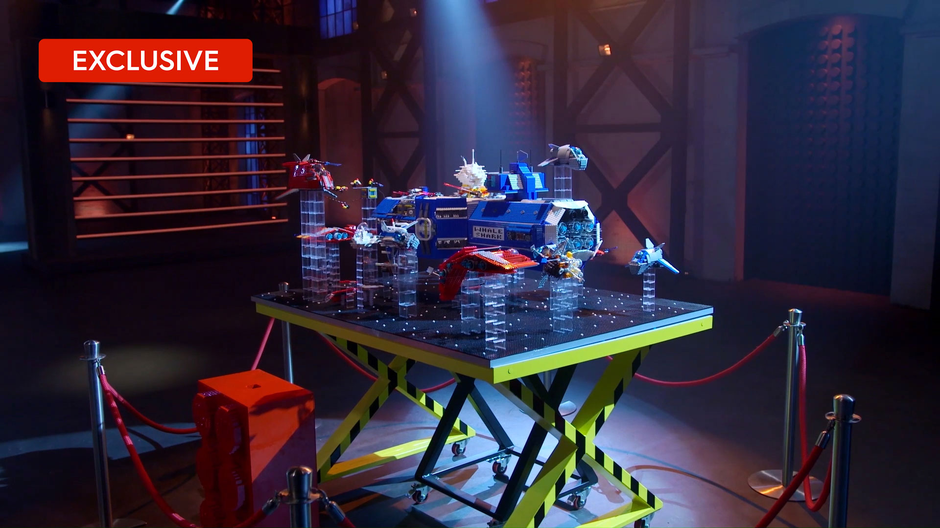 Extended LEGO Reveal: Jordan and Miller's spaceship