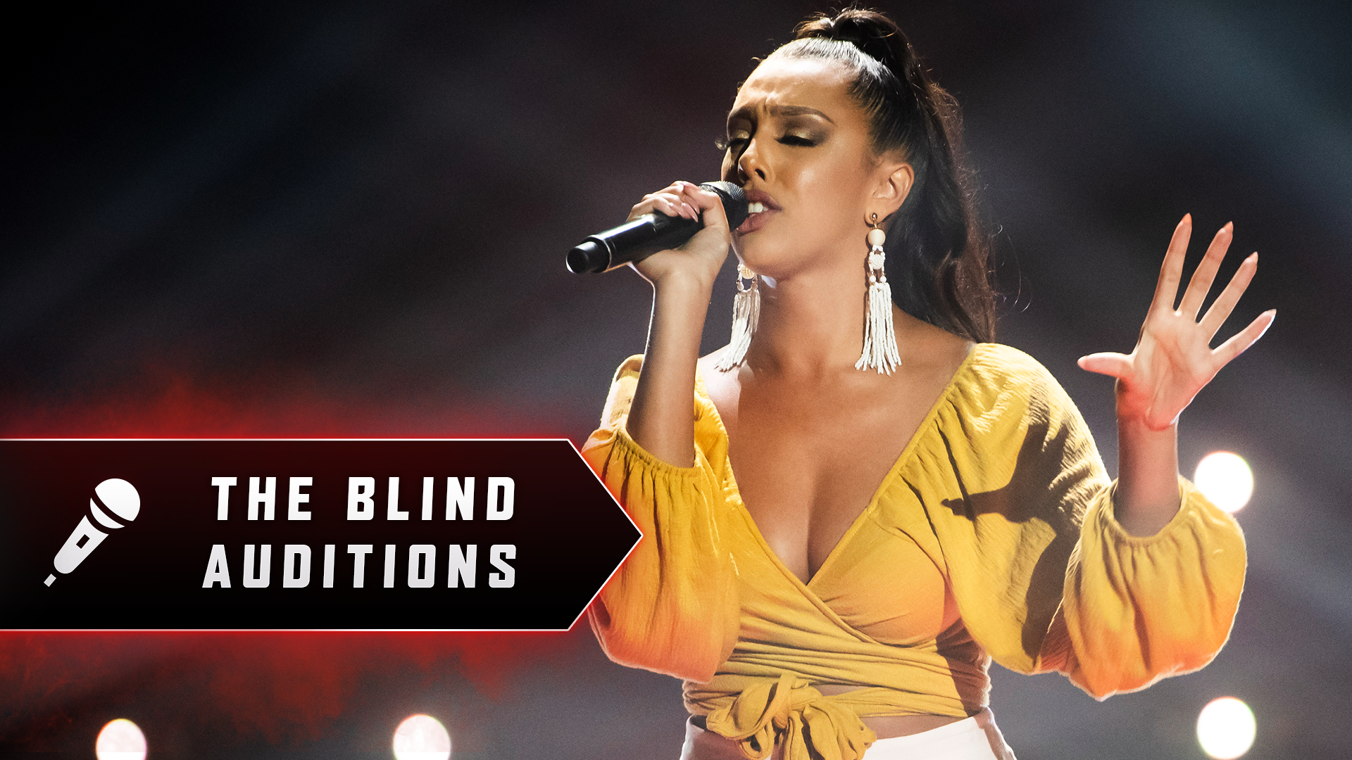 Blind Audition: Jazmin Varlet 'Love The Way You Lie (Part 2)'