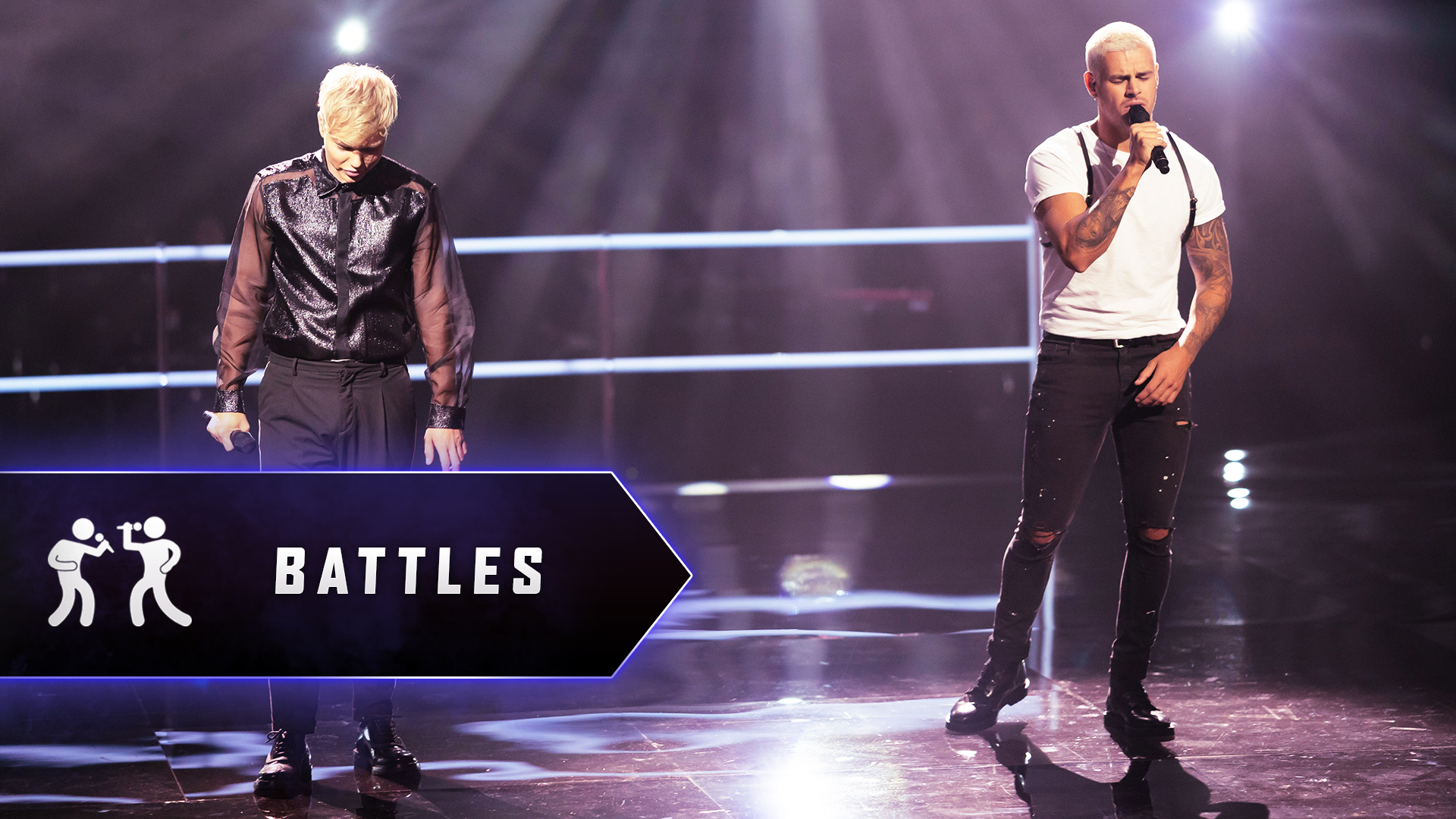 The Battles: Chriddy Black v Jack Vidgen 'Say Something'