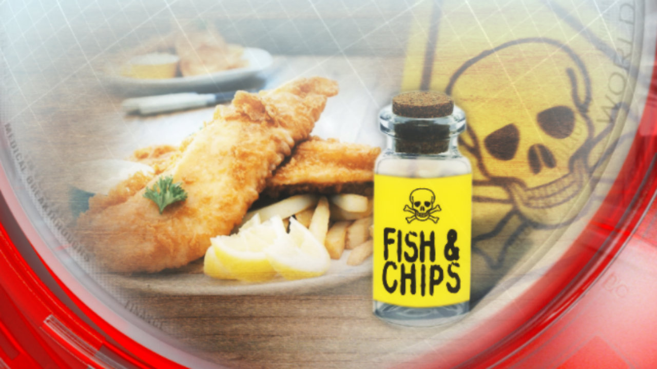 Fish and chips: Poison on the side
