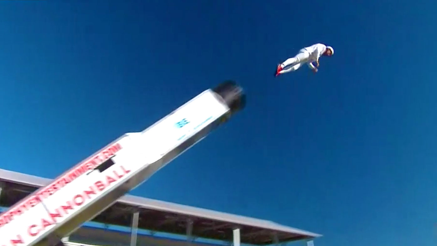 Potentially deadly stunt performed live on Today