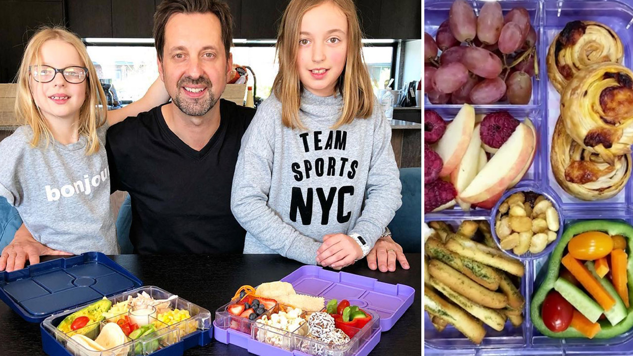 Dad revolutionises his daughter's lunchboxes