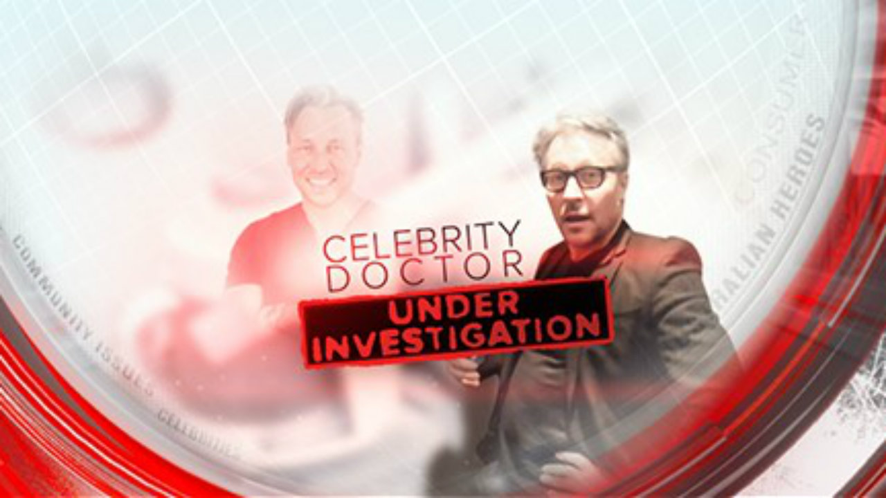Celebrity doctor under investigation