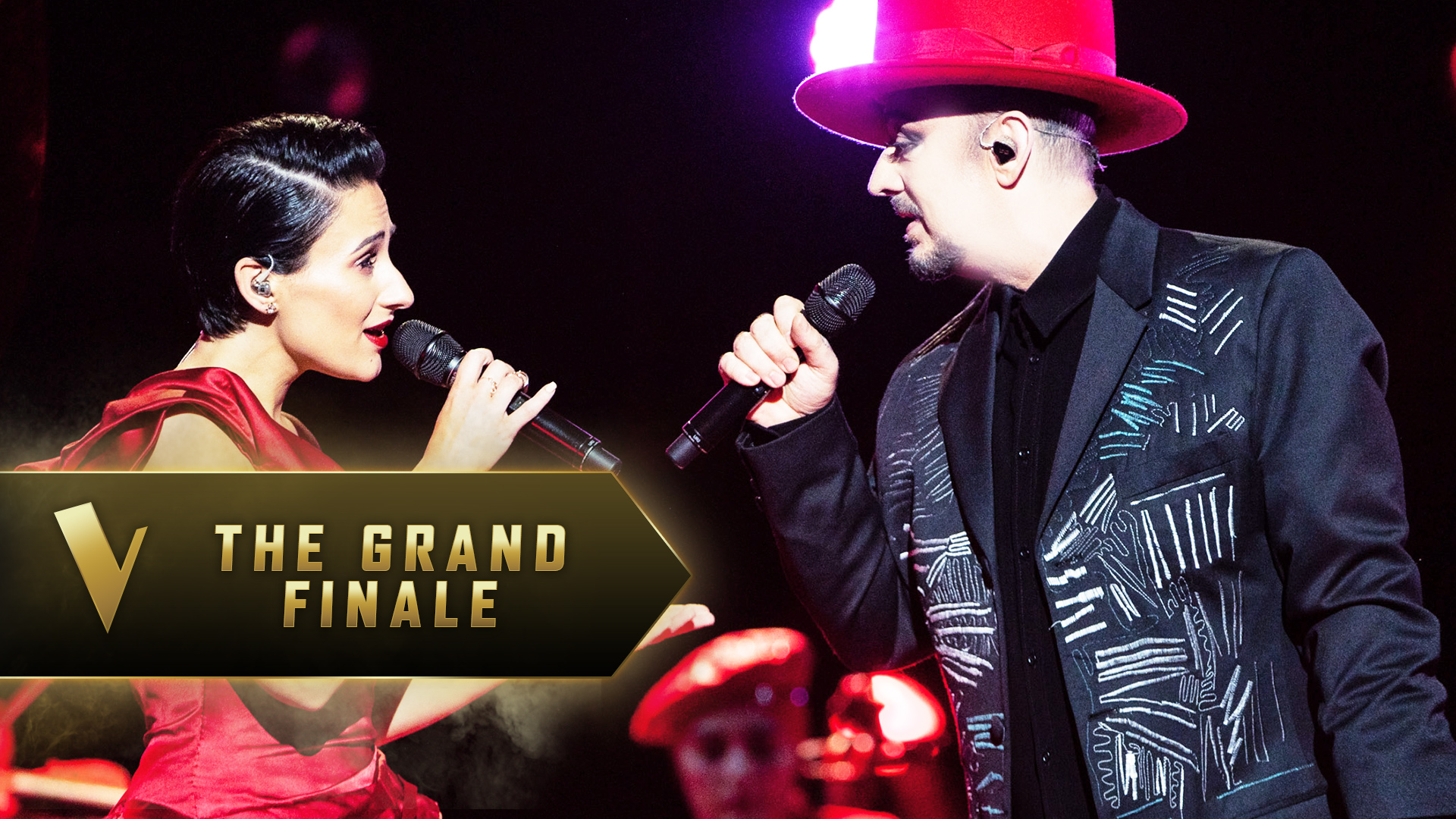 The Grand Finale: Boy George and Diana Rouvas 'Send In The Clowns'