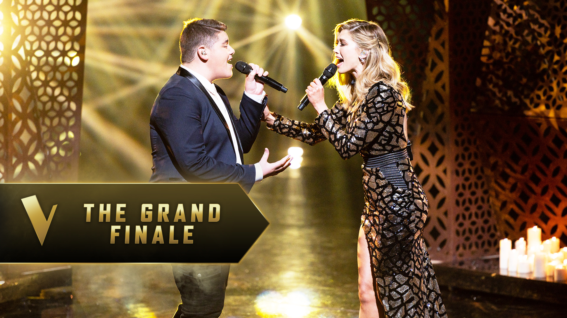 The Grand Finale: Delta Goodrem and Jordan Anthony 'You Say'