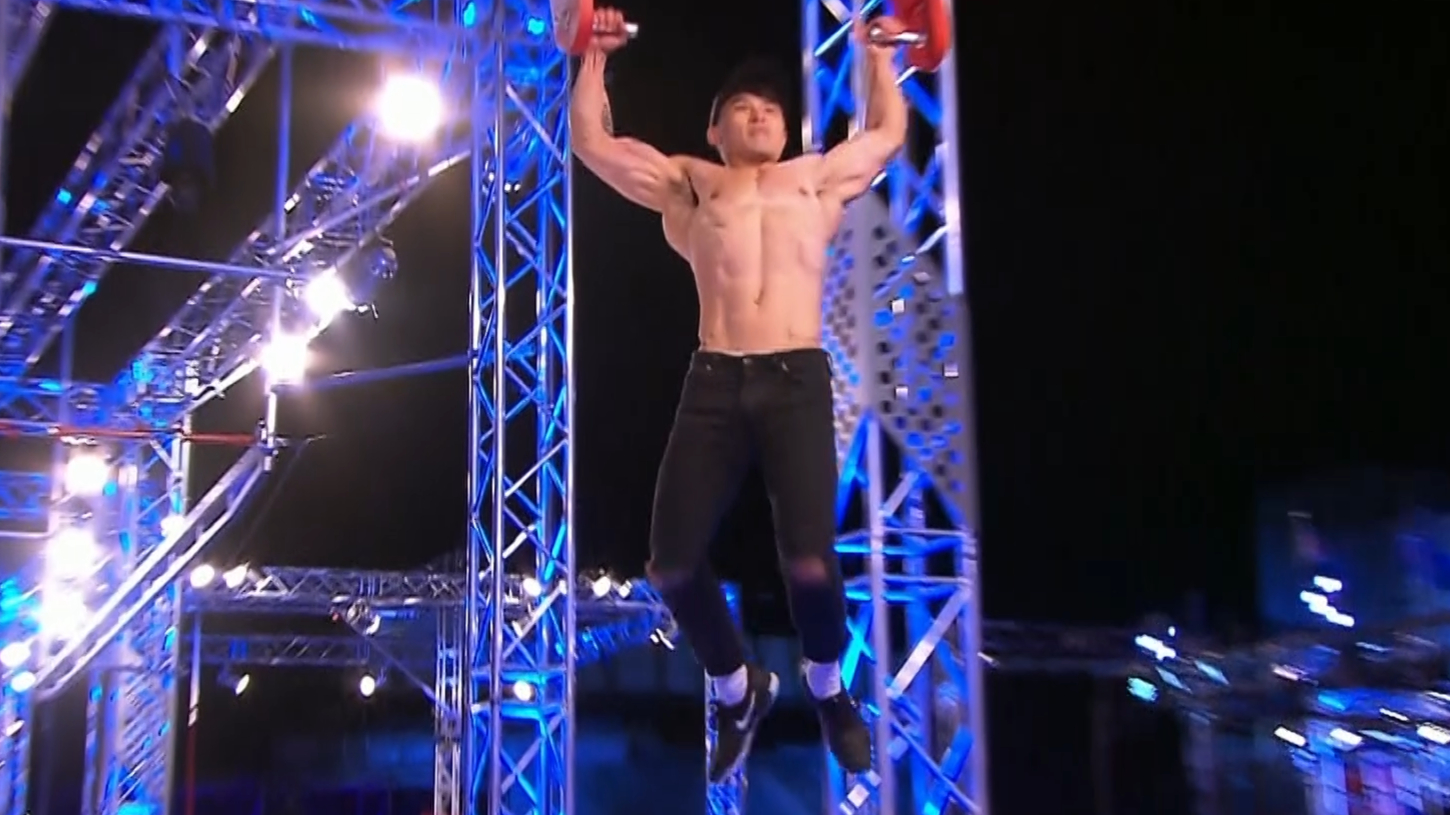 Ep5 - Model Winson Lam breezes through the course - Australian Ninja Warrior 2019