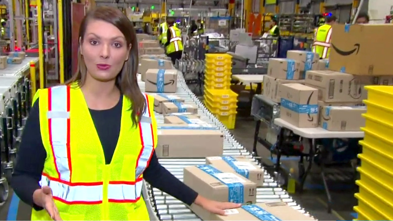 Inside Amazon's Aussie fulfillment centre