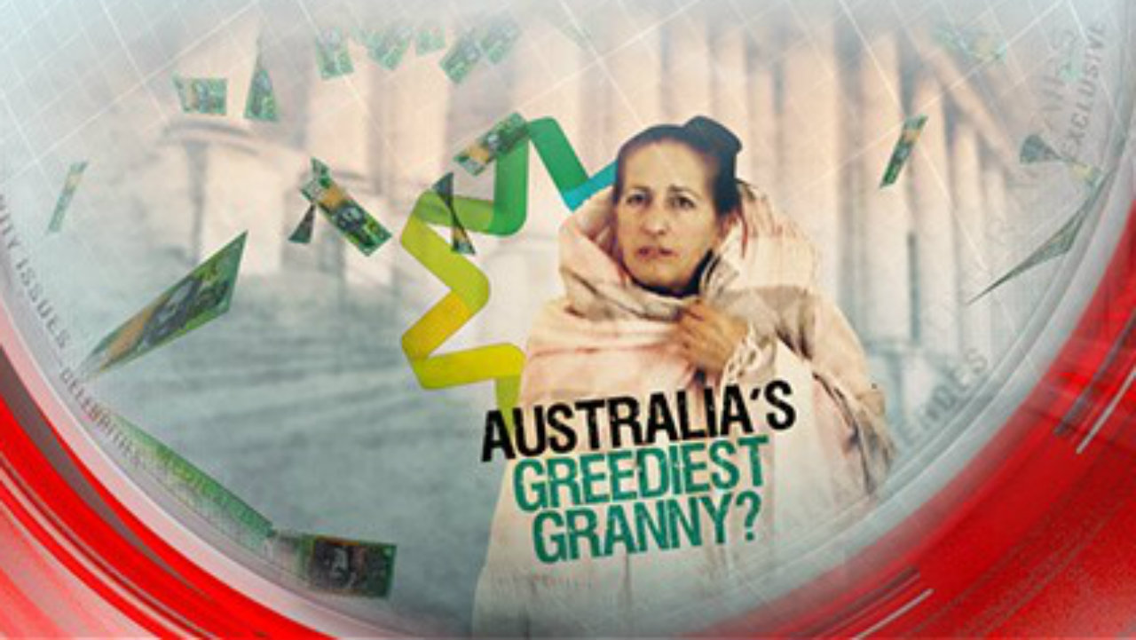 Australia's greediest granny?