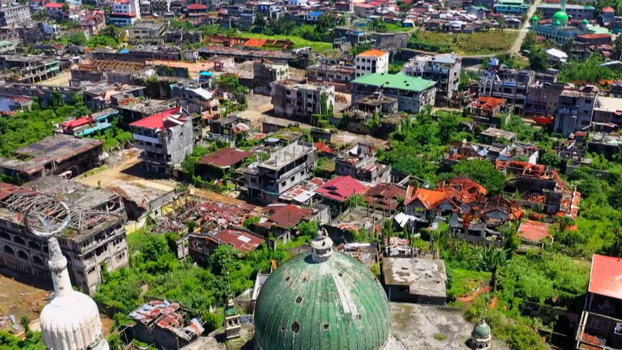Marawi city lies in ruins after ISIS seige
