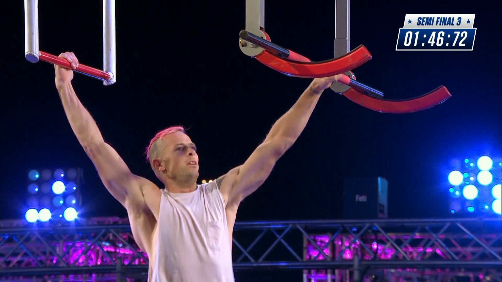 Ep8 - Luke Shelton falls short of hitting the buzzer - Australian Ninja Warrior 2019