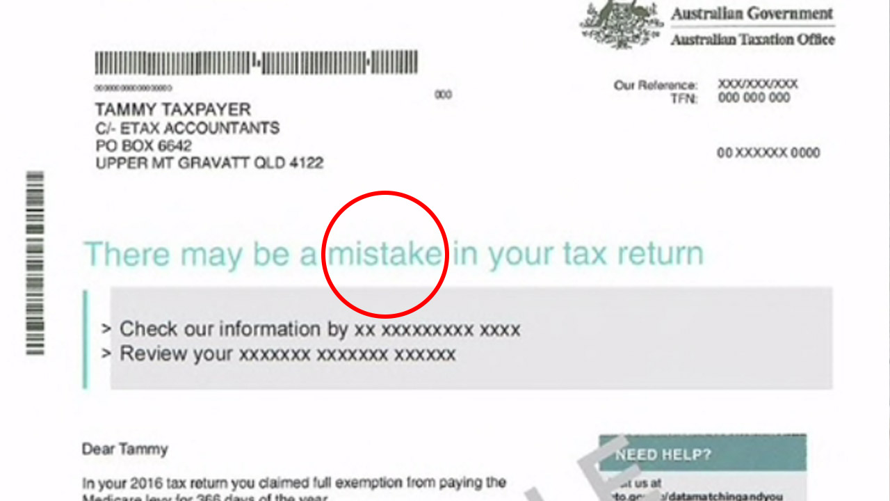 The ATO letter panicking thousands of Aussies