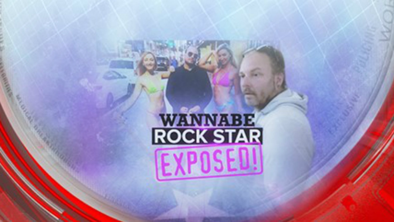 Wannabe rock star exposed