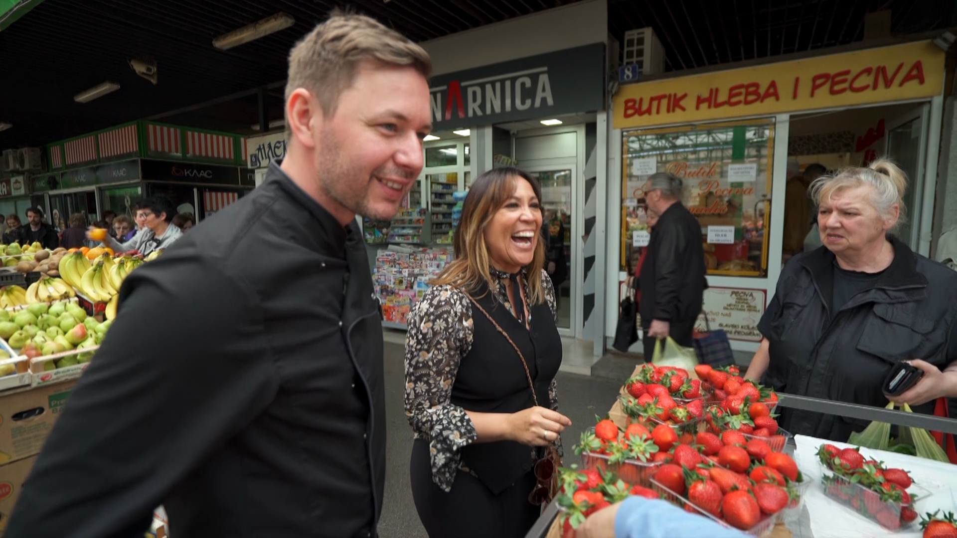 Shopping with a chef in Belgrade