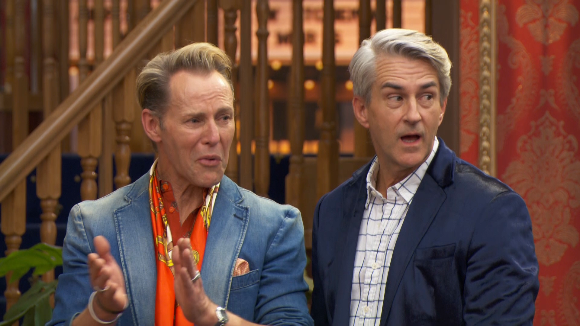 Shock and awe as the judges see Mitch and Mark's game changing double room reveal