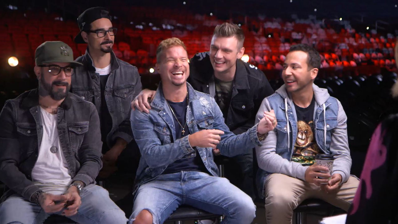 The Backstreet Boys say they're more than a band, they're a family