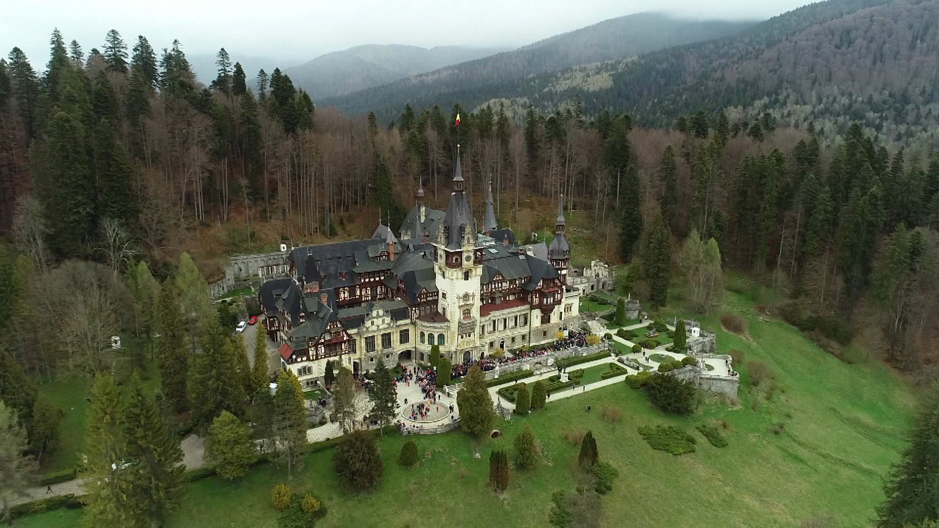 The most beautiful castle in Romania