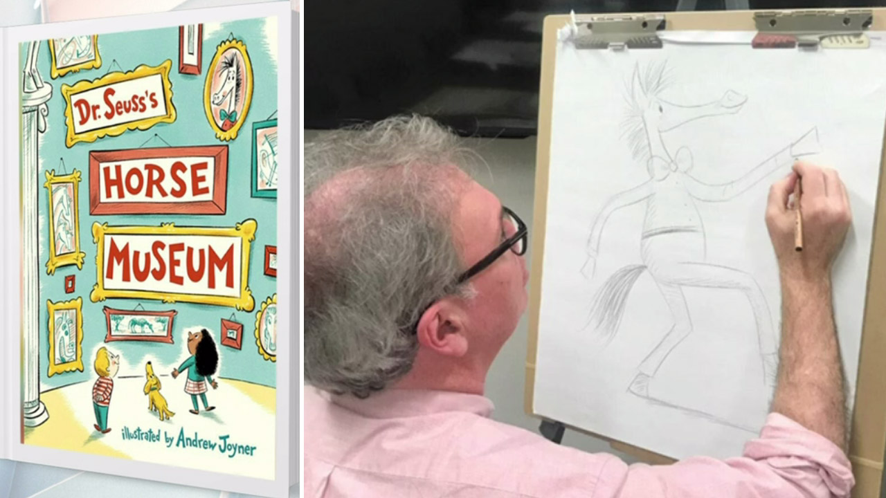 Adelaide man chosen to illustrate new Dr. Seuss book