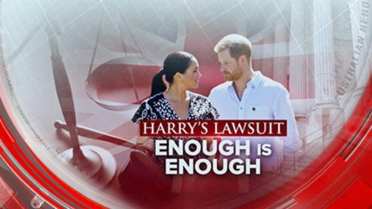 Harry's lawsuit
