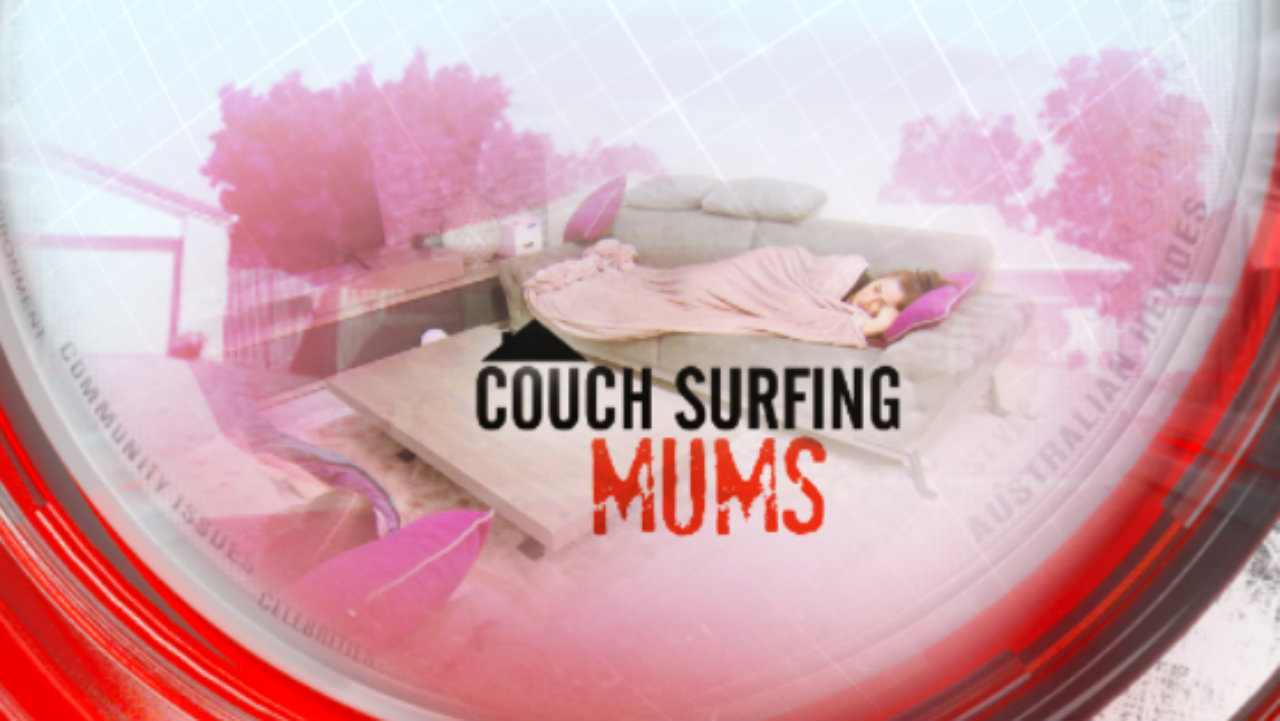 Couch-surfing mums