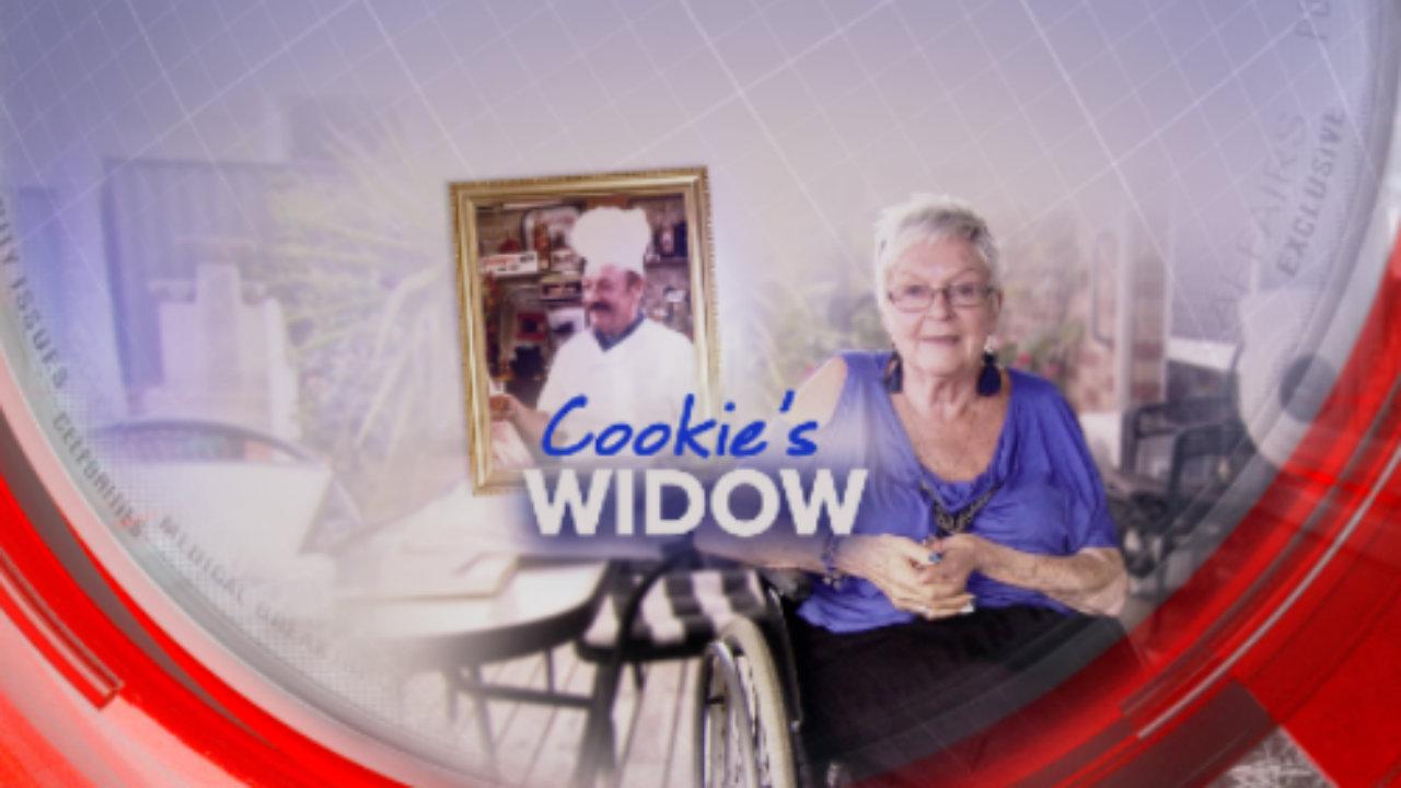 Cookie's widow