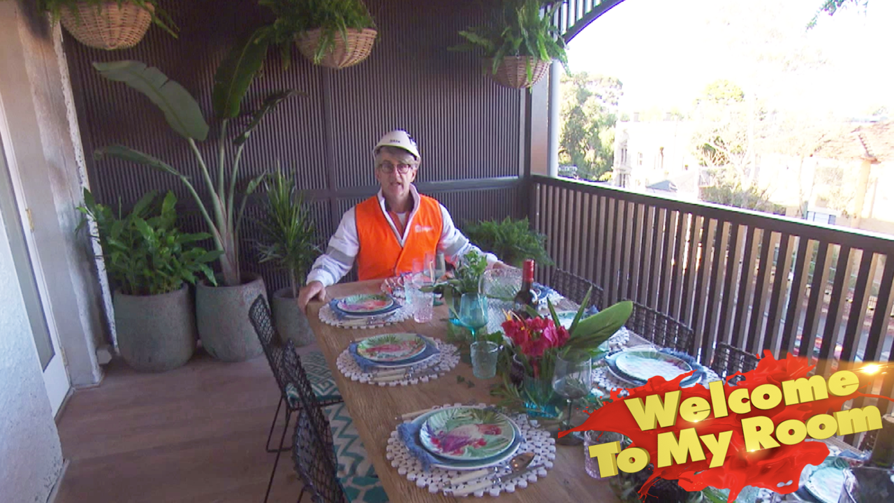 Mitch and Mark's alfresco dining room