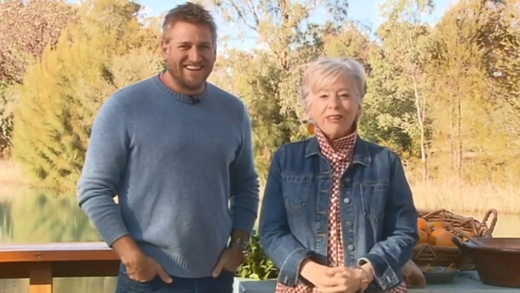 Curtis Stone and Maggie Beer join forces