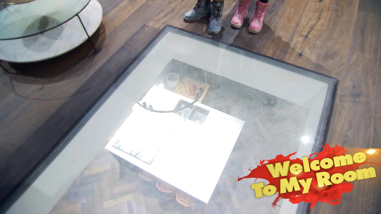 Tess and Luke's impressive glass floor
