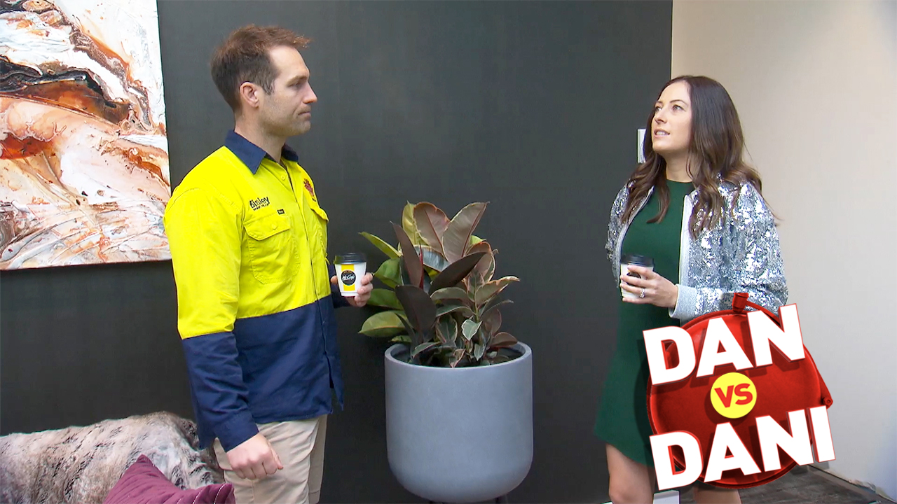 Dan and Dani blast the 'tacky' feature in one home