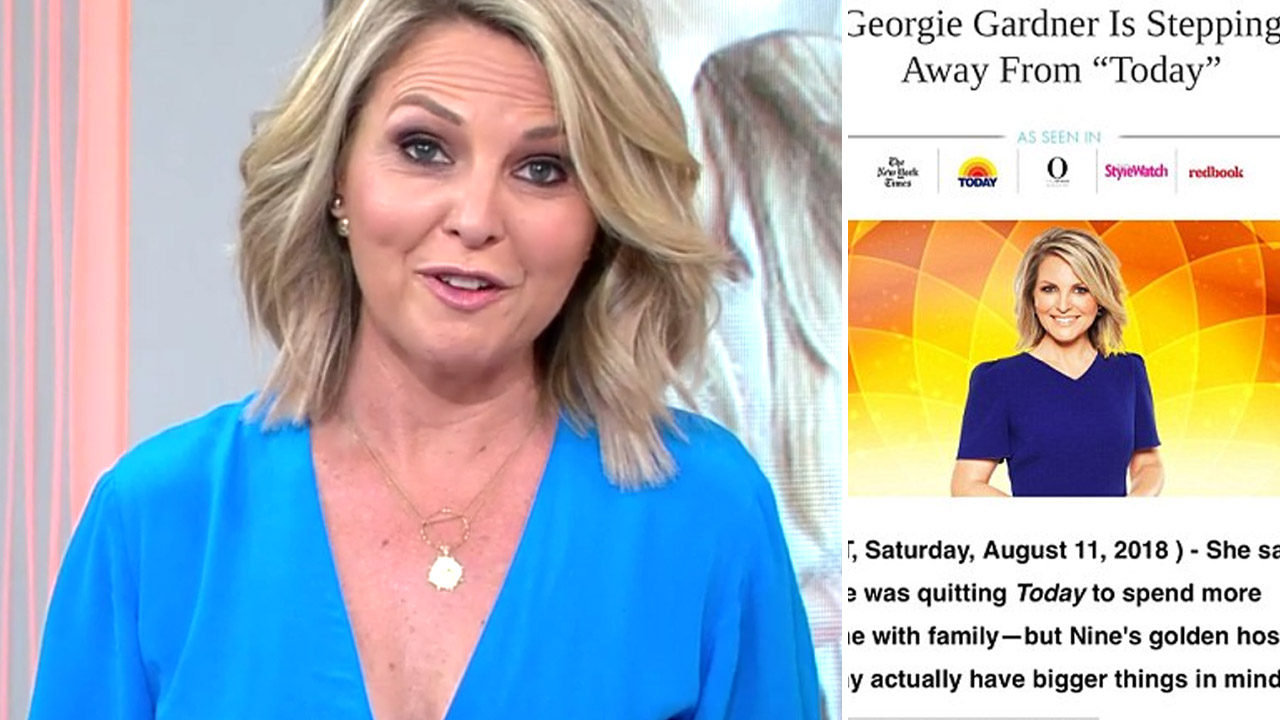 Georgie Gardner's own grandmother tricked by a scam using host's image