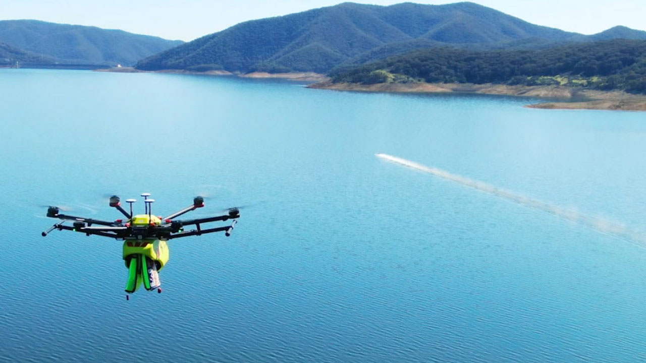 Search and rescue drones are eyes in the sky
