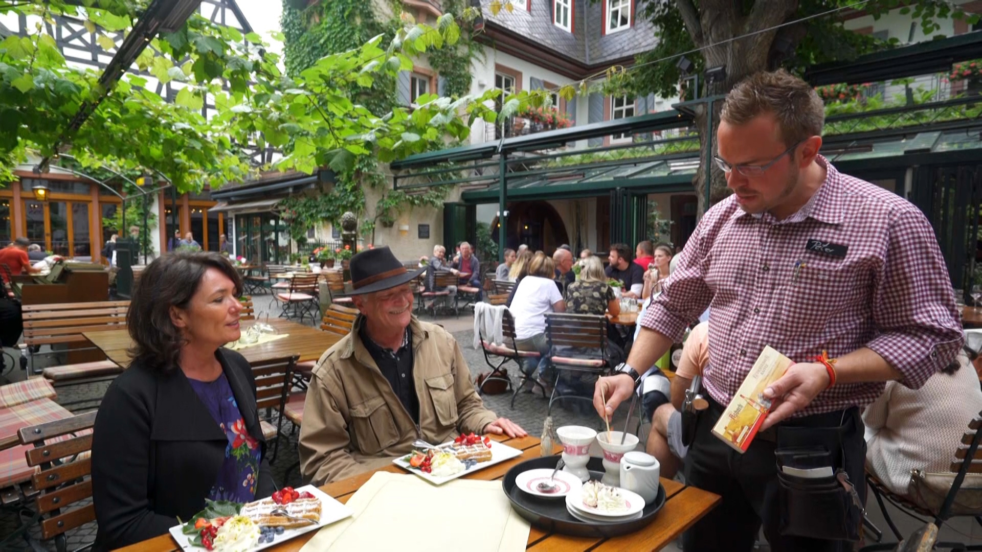 Rüdesheim's famous coffee