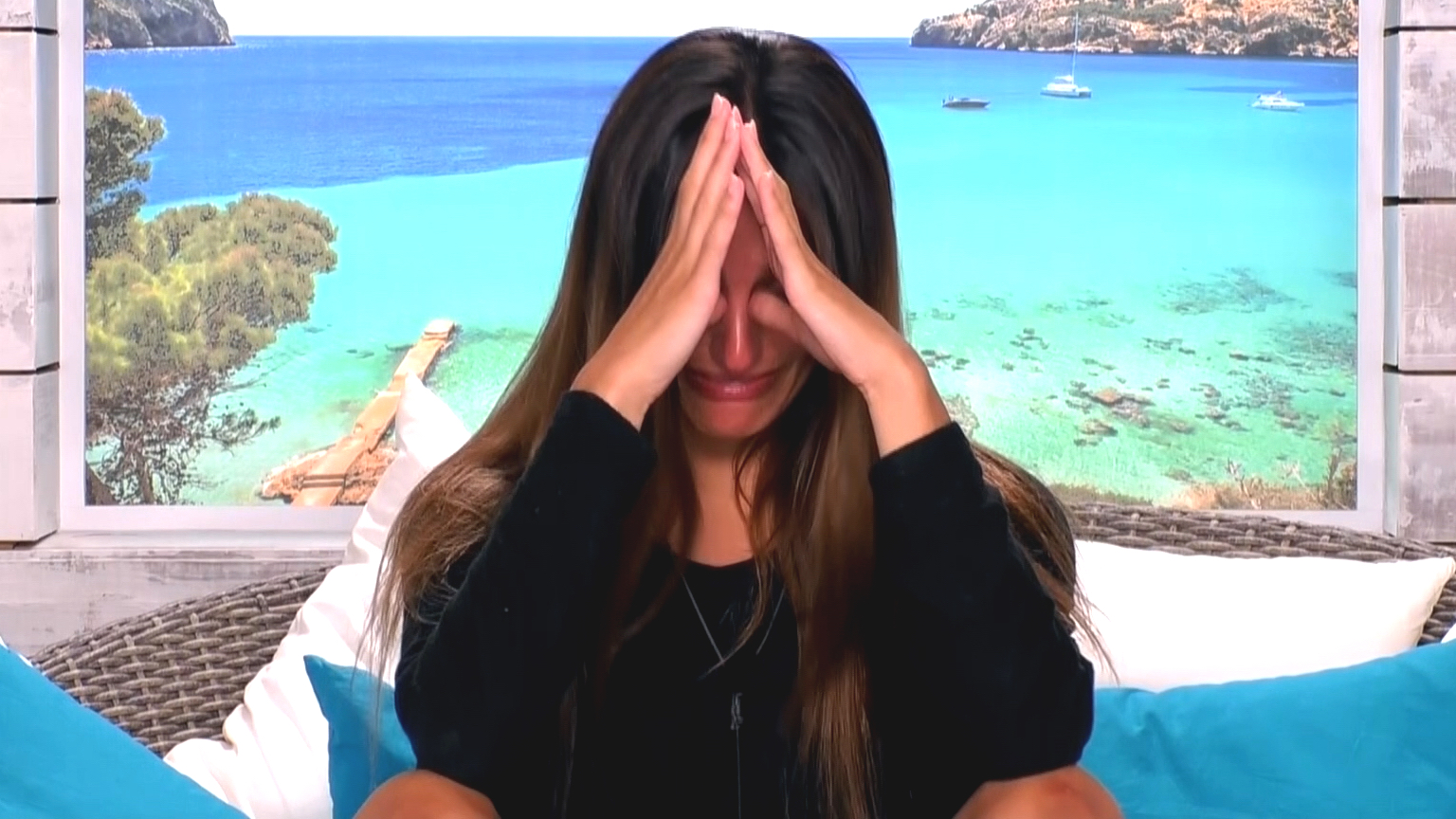 Cartier left in tears after she and Adam call an end to their relationship