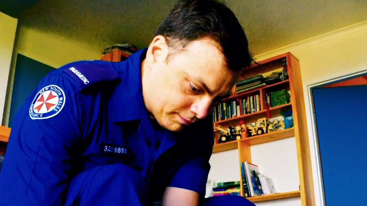 How a paramedic was saved by his colleagues