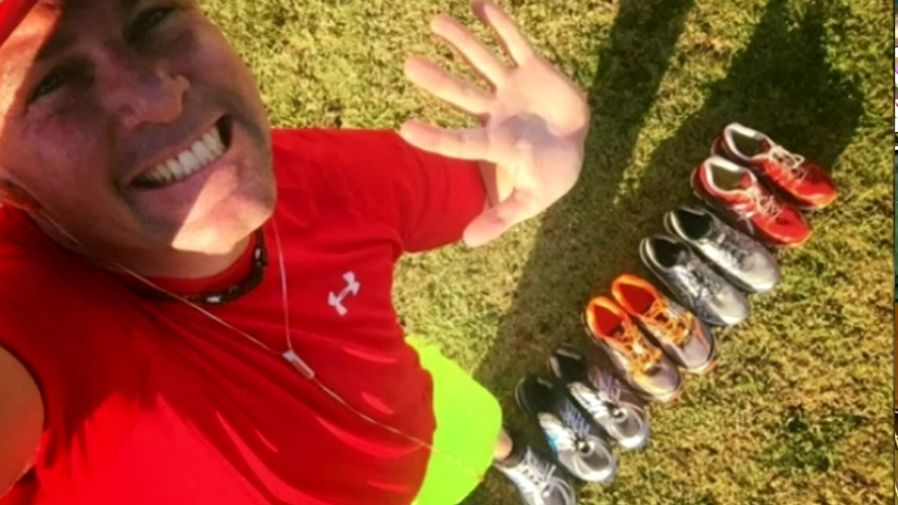 Brisbane dad runs for more than 2000 consecutive days
