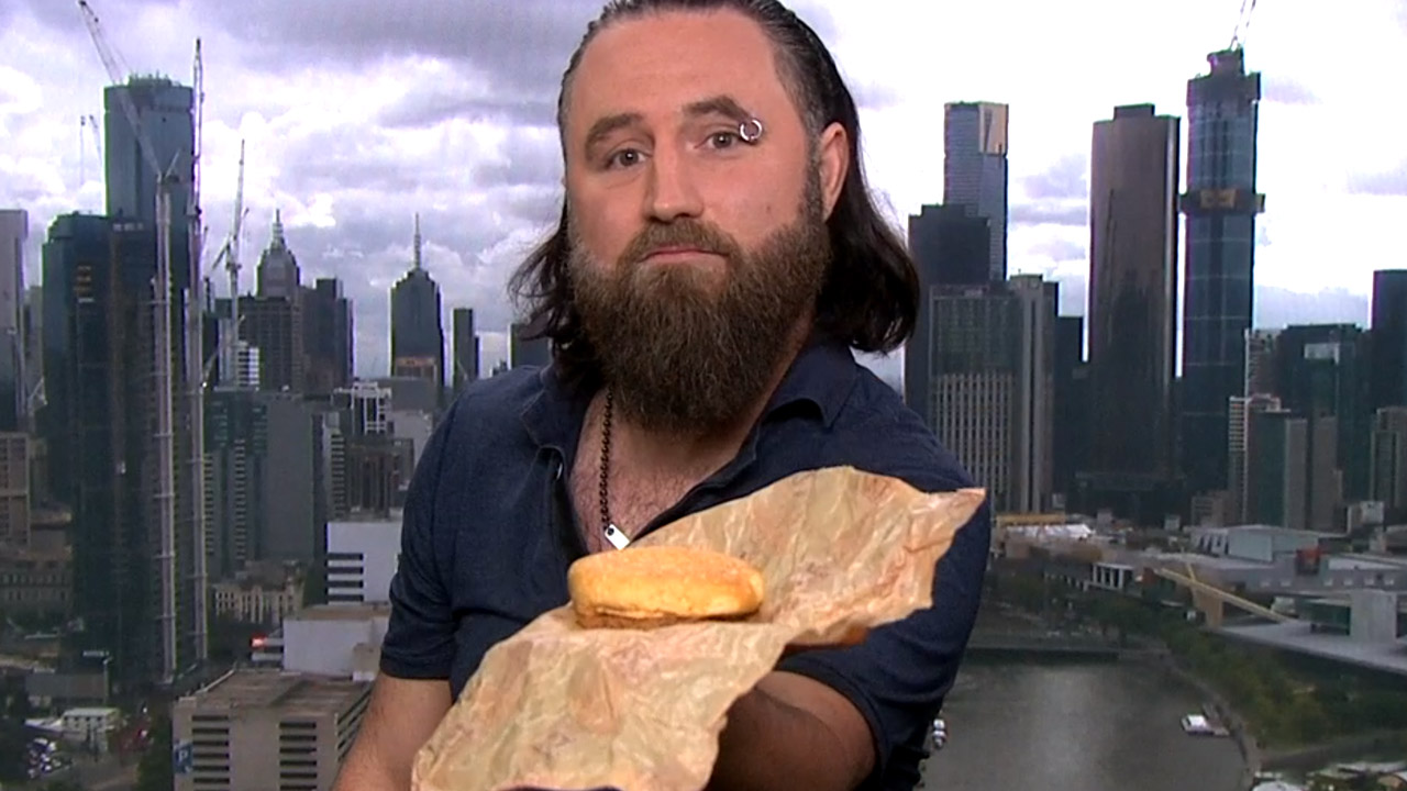 Quarter century Quarter Pounder: Melbourne man's 25-year-old burger