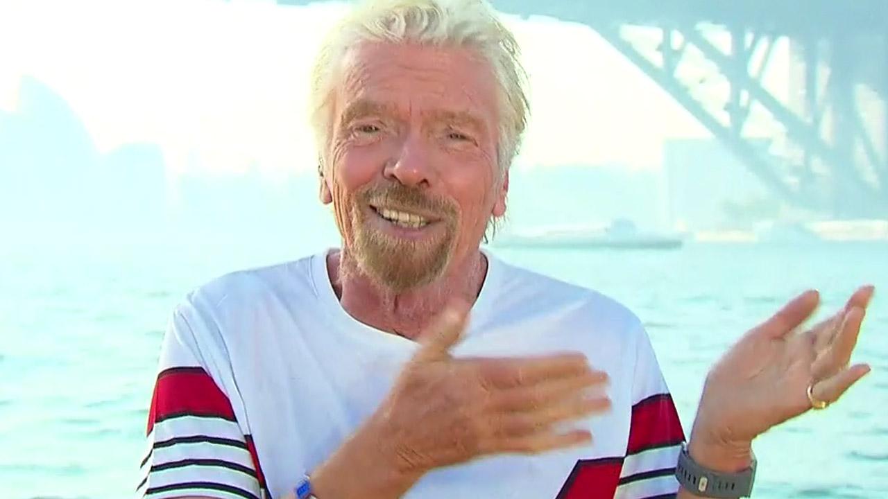Richard Branson has a surprise for Aussie commuters